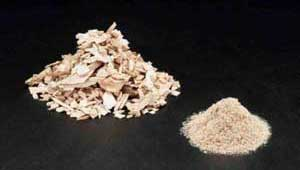 dry wood chips