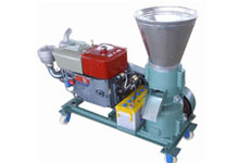 120-200kg/h portable wood pellet mill