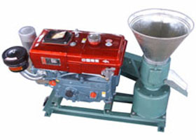 ZLSP120A D-Type Diesel Engine Pellet Machine