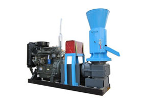 ZLSP300 R-Type Diesel Engine Pellet Mill