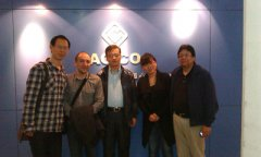 Columbia Customer Visit Us for Purchasing Pellet Mills