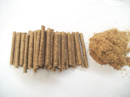 bamboo waste pellets
