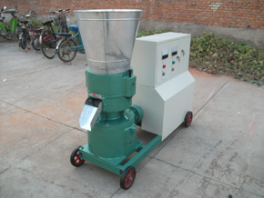 corn stover pelleting machine