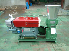 corn stover pellet making machine