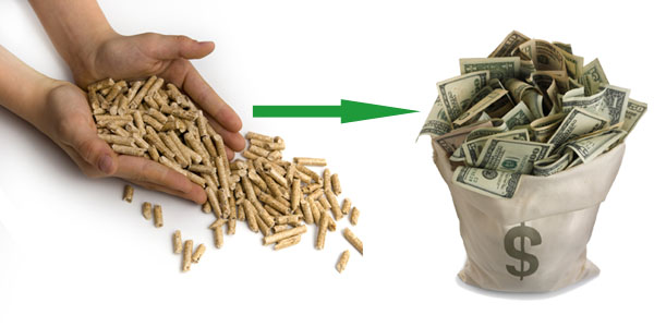 economical benefits of biomass pellets