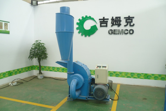 electric hammer mill with cyclone