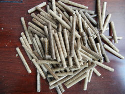 green bamboo pellets