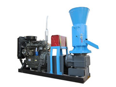 350-450kg/h biomass pelleting machines