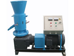 heating by pellet making machine